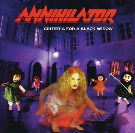 Annihilator альбом Criteria For A Black Widow (Explicit Version)