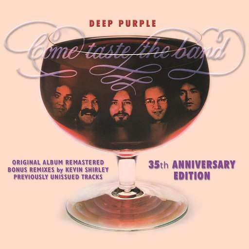 Deep Purple альбом Come Taste The Band: 35th Anniversary Edition
