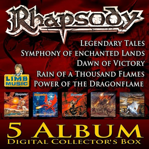 Rhapsody альбом Rhapsody Digital Collector's Box
