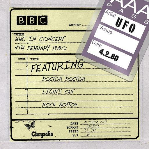 UFO альбом BBC in Concert (4 February 1980)
