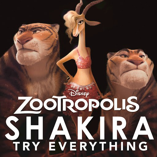 "Shakira альбом Try Everything (From ""Zootropolis"")"