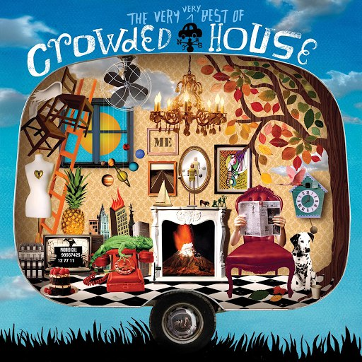 Crowded House альбом The Very Very Best Of Crowded House (Deluxe Edition)