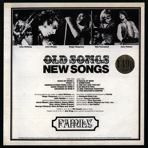 Family альбом Old Songs, New Songs
