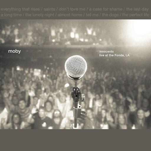 Moby альбом Innocents: Live at the Fonda, LA