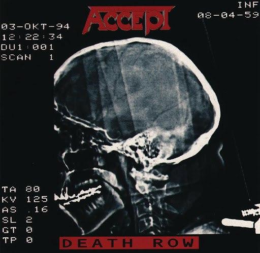 Accept альбом Death Row