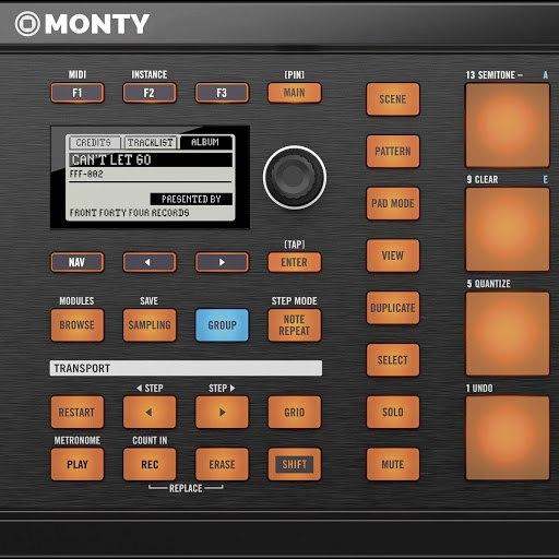 Monty альбом Can't Let Go
