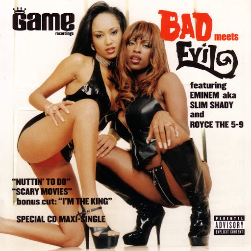 Bad Meets Evil album Nuttin' To Do / Scary Movies Maxi Single