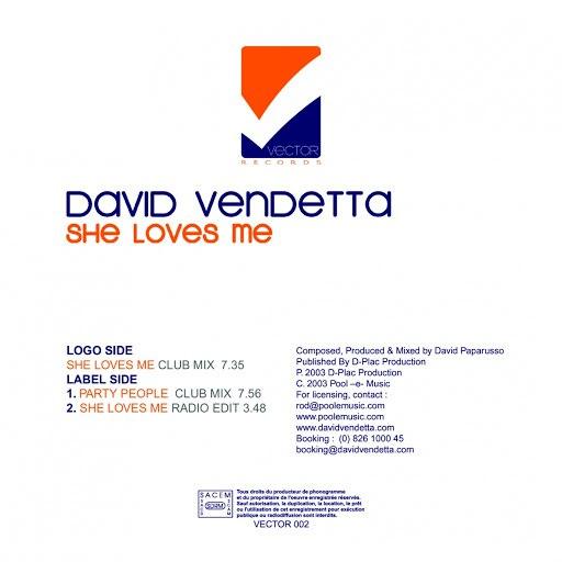 David Vendetta альбом She Loves Me Party People