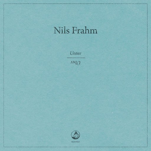 nils frahm альбом Unter   Über