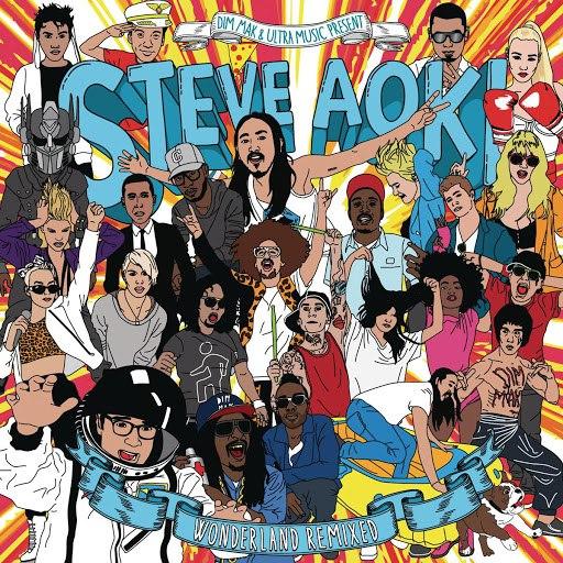 Steve Aoki альбом Wonderland (Remixed)