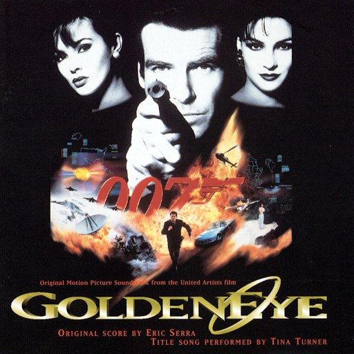 Eric Serra альбом Goldeneye [Original Motion Picture Soundtrack]