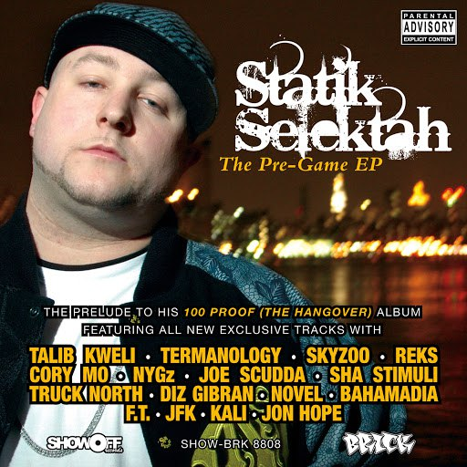 Statik Selektah альбом The Pre-Game - EP