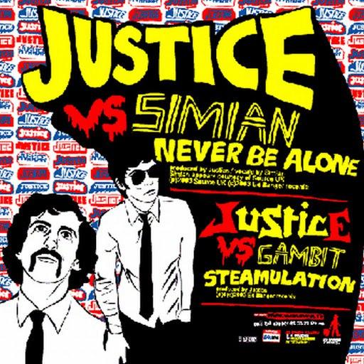 Justice альбом Steamulation