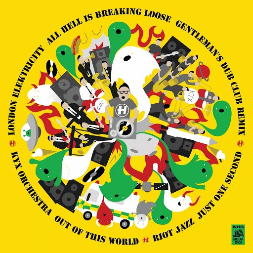 London Elektricity альбом All Hell Is Breaking Loose (Gentleman's Dub Club Remix)