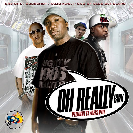 KRS-ONE альбом Oh Really Remix