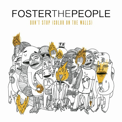 Foster The People альбом Don't Stop (Color On The Walls)