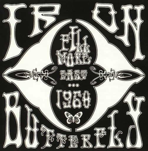 Iron Butterfly альбом Fillmore East 1968