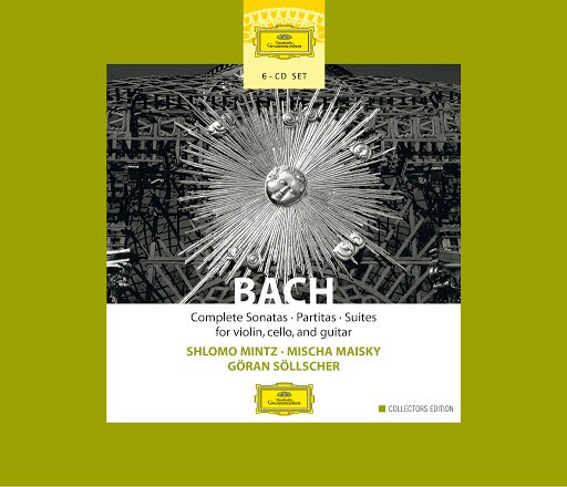 Johann Sebastian Bach альбом Bach: Complete Sonatas, Partitas & Suites for Violin, Cello & Guitar