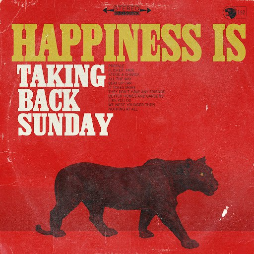 Taking Back Sunday альбом Happiness Is