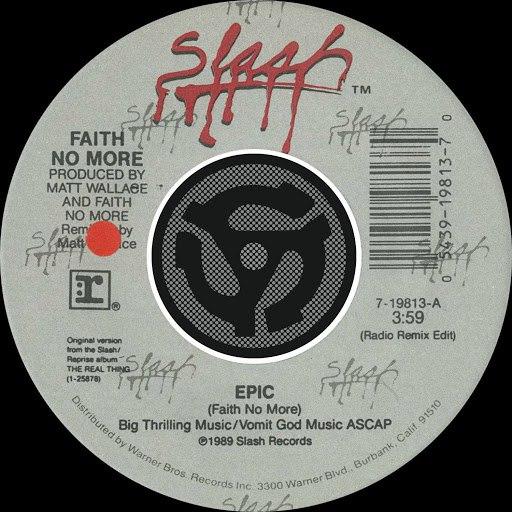 Faith No More альбом Epic [Radio Remix Edit] / Edge Of The World [Digital 45]