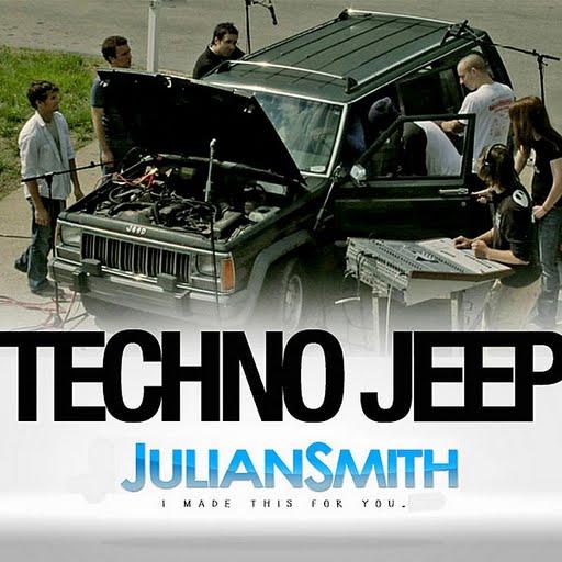 JULIAN SMITH альбом Techno Jeep