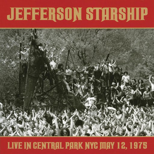 Jefferson Starship альбом Live in Central Park: May 12, 1975
