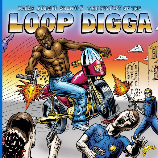 Madlib альбом Madlib Medicine Show #5: The History of the Loop Digga, 1990-2000