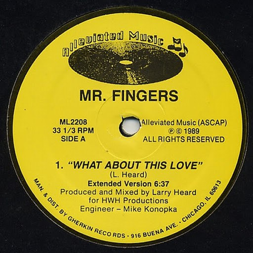 Mr. Fingers альбом What About This Love?