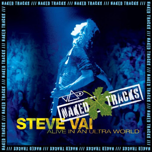 Steve Vai альбом Naked Tracks Vol. 4 (Alive in an Ultra World / Plus - Mixes With No Lead Guitar)