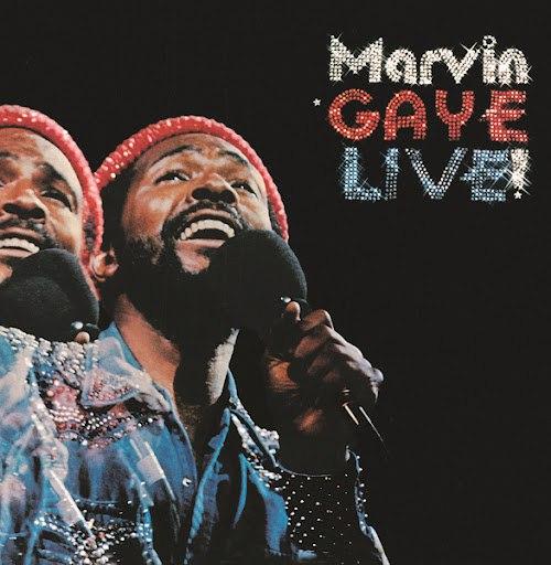 Marvin Gaye альбом Live
