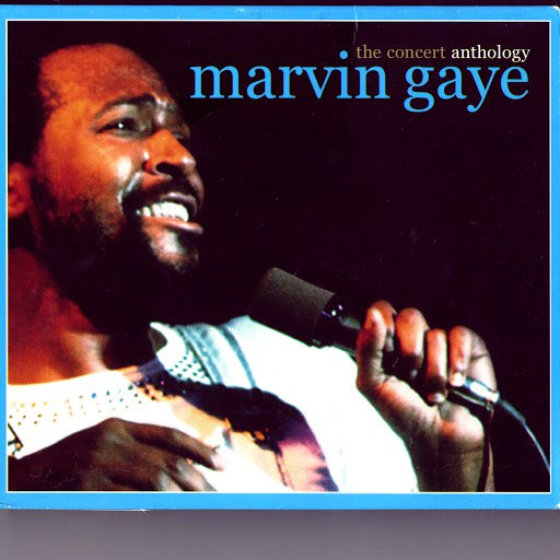 Marvin Gaye альбом The Concert Anthology - The 1980 European Tour / The 1983 North American Tour