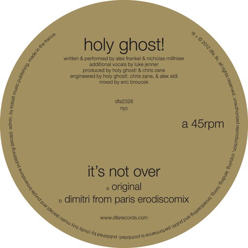 Holy Ghost! альбом It's Not Over
