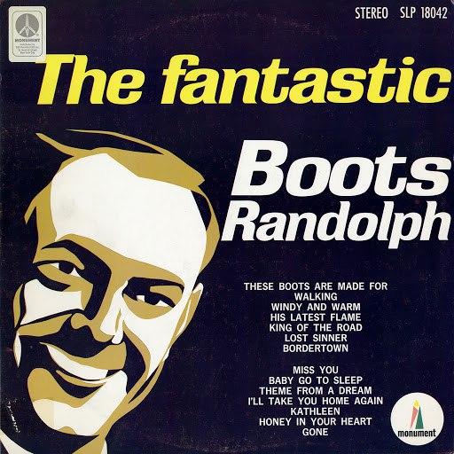 Boots Randolph альбом The Fantastic Boots Randolph