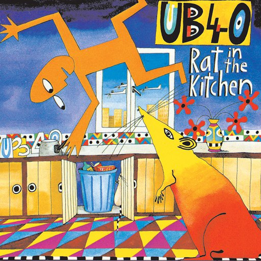 UB40 альбом Rat In The Kitchen