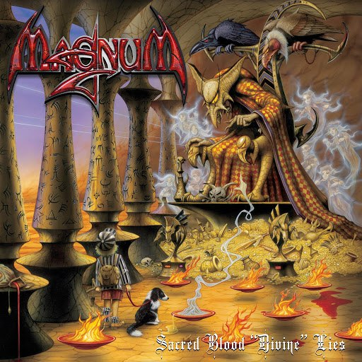 "Magnum альбом Sacred Blood ""Divine"" Lies"