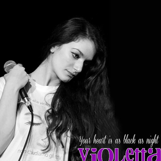 Violetta альбом You Heart Is as Black as Night