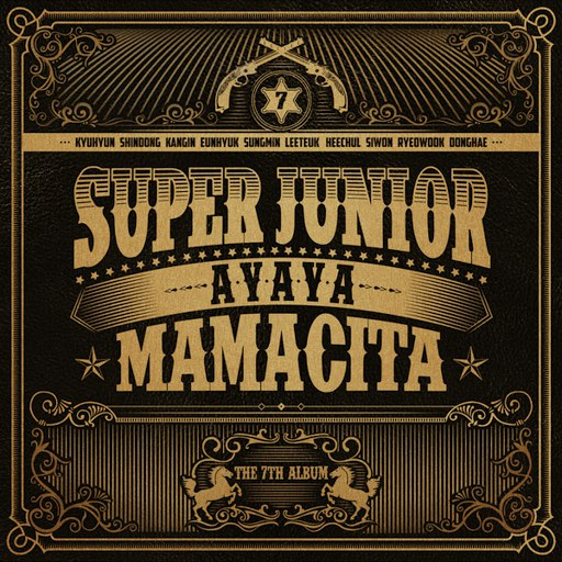 Super Junior альбом The 7th Album 'MAMACITA'