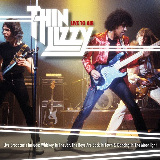 Thin Lizzy альбом Live to Air (Live)