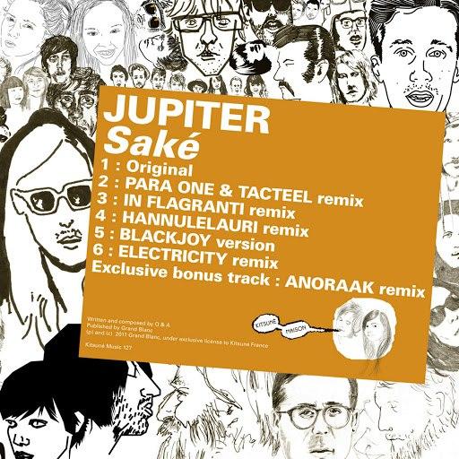 Jupiter альбом Kitsuné: Saké (Bonus Track Version)
