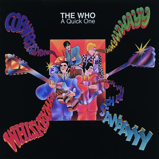 The Who альбом A Quick One (Mono Version)