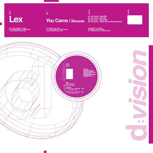 Lex альбом You Came / Because