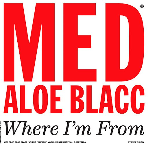 MED альбом Where I'm From 12""