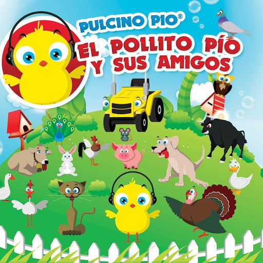 Pulcino Pio альбом El Pollito Pío y Sus Amigos