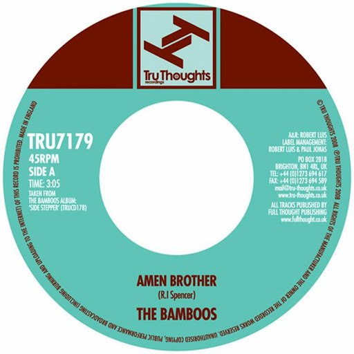 The Bamboos альбом Amen Brother