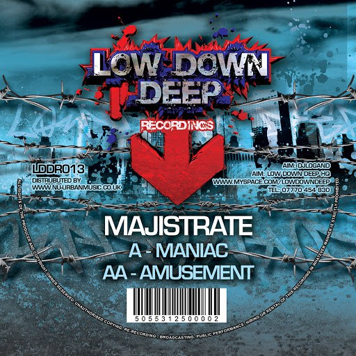 Majistrate альбом Maniac / Amusment