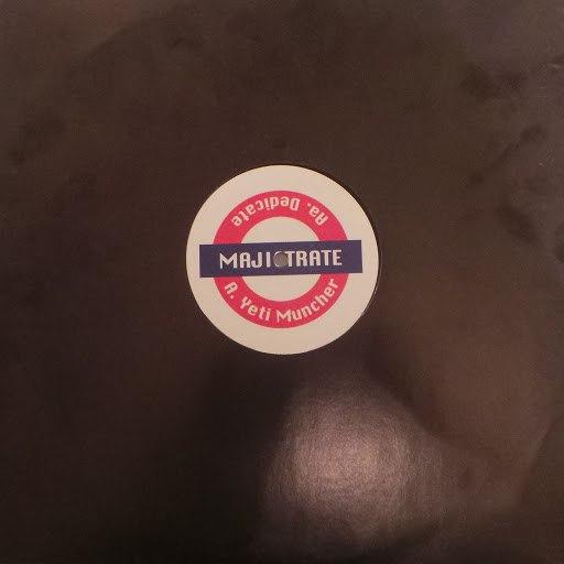 Majistrate альбом Yeti muncher / Dedicate