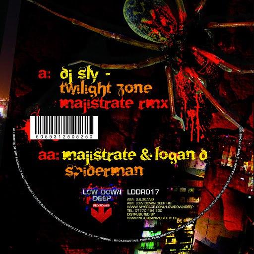 Majistrate альбом Twilight Zone Remix / Spiderman