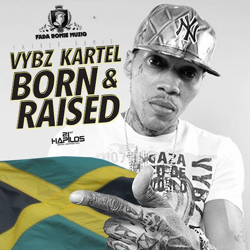 Vybz Kartel альбом Born & Raised - EP