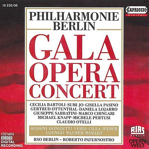 Cecilia Bartoli альбом Philharmonie Berlin: Gala Opera Concert