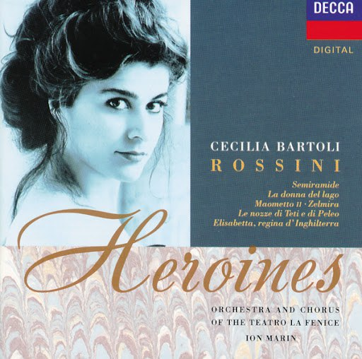 Cecilia Bartoli альбом Rossini Heroines